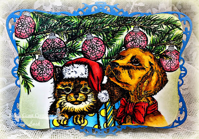 Stamps - North Coast Creations Santa Paws, Santa Claws