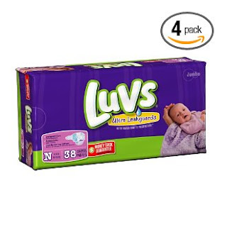LUVS size newborn
