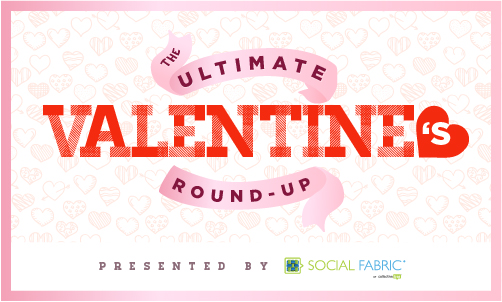 Valentines crafts & recipes, Valentine DIY, Valentine Round up, Valentine Ultimate Round Up, Collective Bias, Social Fabric