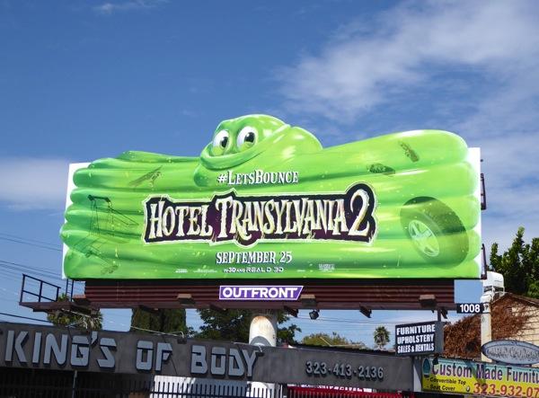 Hotel Transylvania 2 Blob billboard