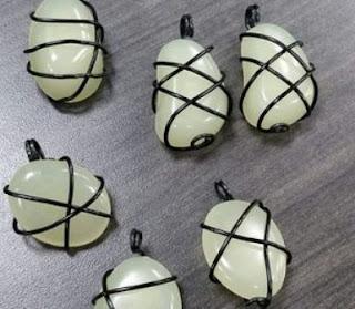 Cara #2 Membuat Gandul Kalung dengan Batu AKIK