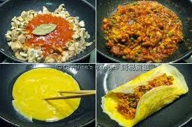 Resep Omelet Nasi Telur Lezat alaOmurice Jepang