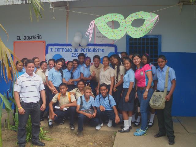 Liceo Bolivariano José Antonio Abreu de San Juan de Payara también recibió taller de Periodismo Escolar