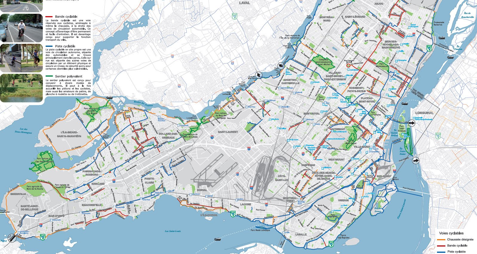 Cycle Fun Montreal: Battle of the online Montreal Bike maps