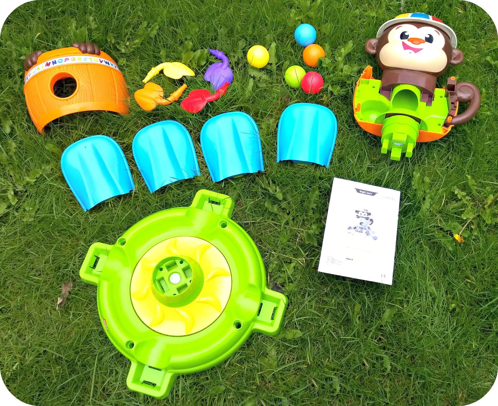 Bright Starts Hide & Spin Monkey Assembly
