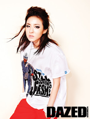 2NE1 Dara Bom Minzy CL Dazed and Confused Magazine 2011