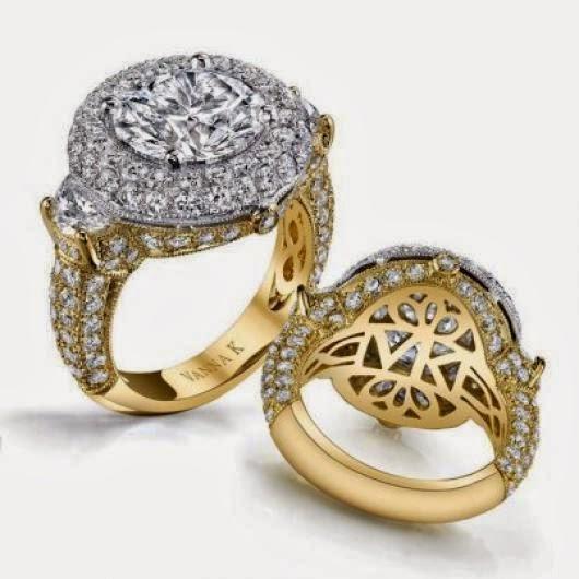 2 تصاميم خواتم ذهب جديدة