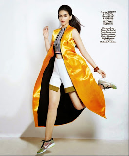 Kriti Sanon Looks Beautiful for L Official ApriL magazine Picture Shoot