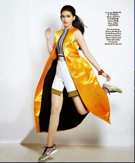 Kriti Sanon Looks Beautiful for L Official ApriL magazine Picture Shoot