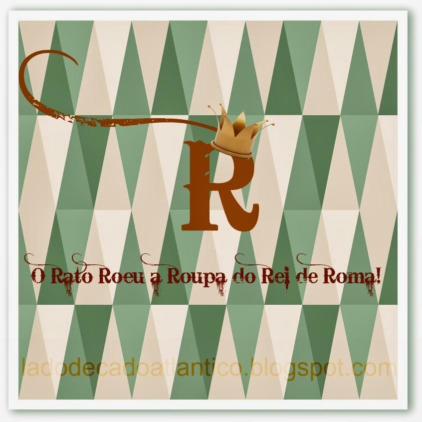 """Imagem de banner para BC Musical com o tema """"Cantor com letra R"""", com o trava-língua """"O rato roeu a roupa do rei de Roma"""""""
