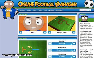 giochi di calcio su Facebook
