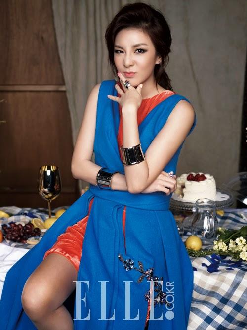 Dara 2NE1 Elle December 2014