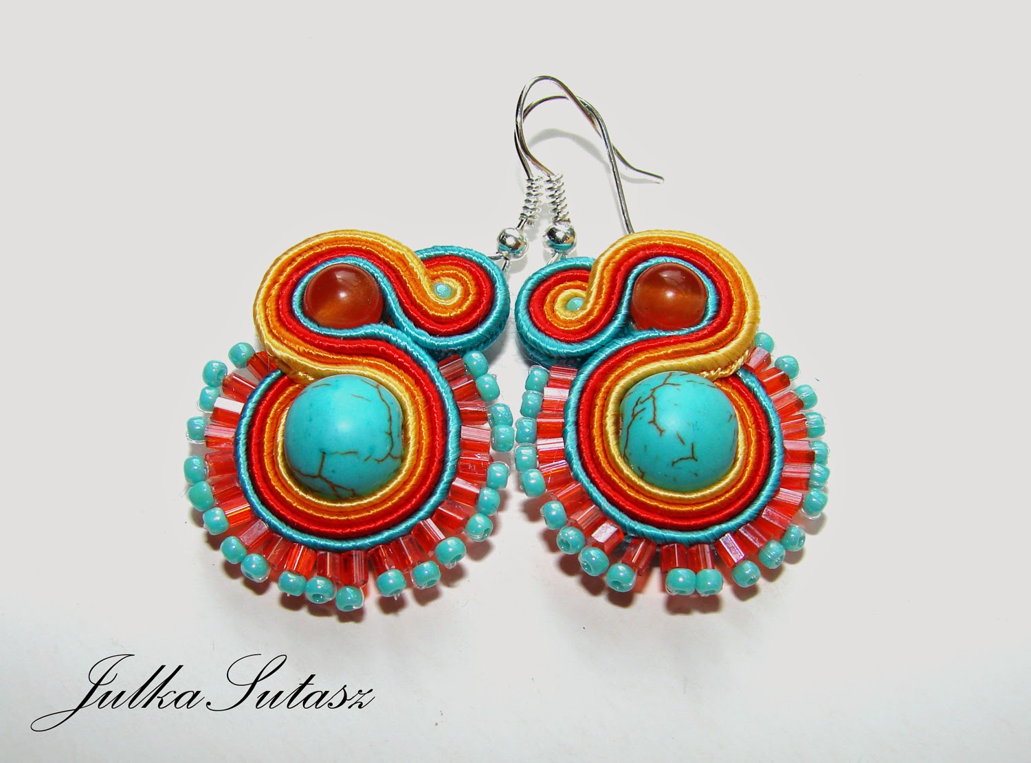 *Colorful: Turquoise* Earrings