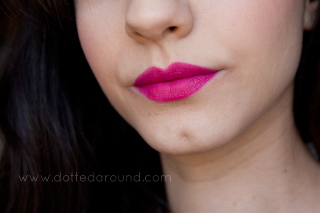 bourjois ole flamingo rouge velvet swatch