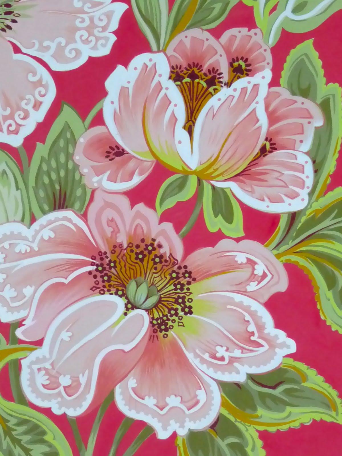 Eye for design decorating rose patterned interiors - Introir dijane ...