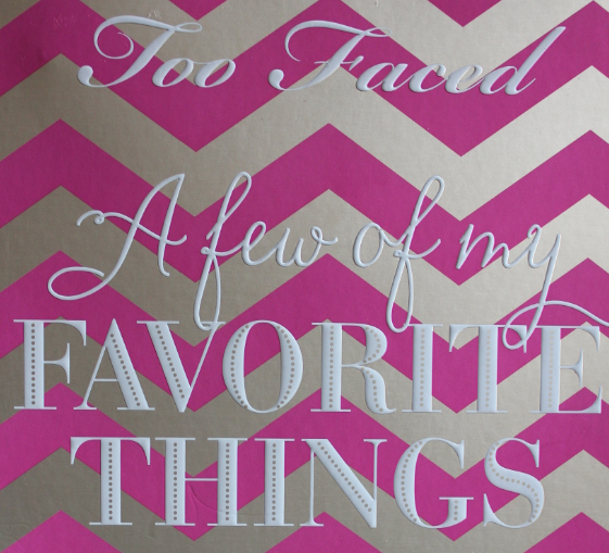 Too Faced A Few Of My Favorite Things Palette review