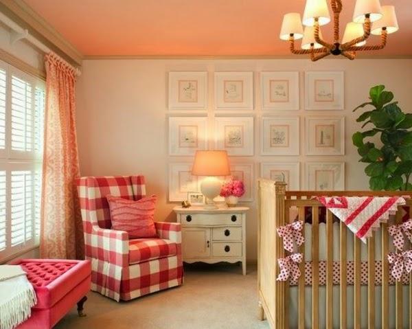 Dormitorios para beb s ni as colores en casa - Dormitorio bebe nina ...