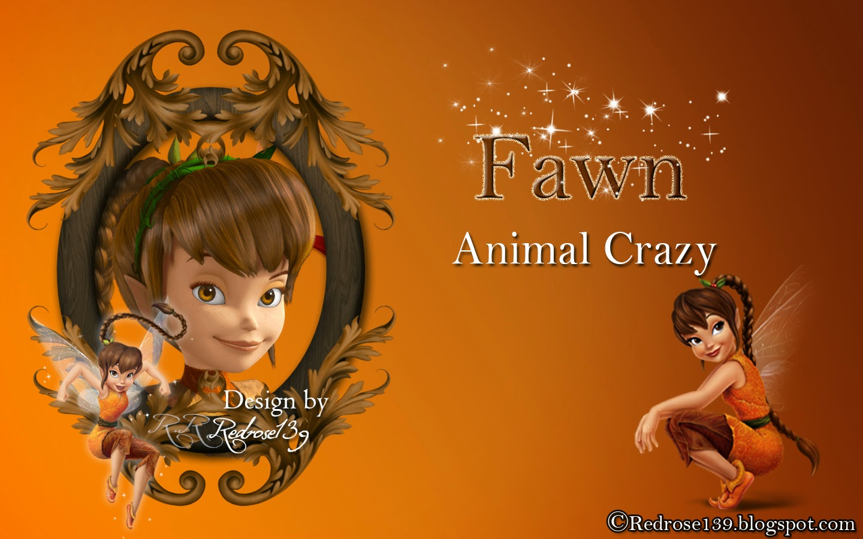 Fawn fairy wallpaper