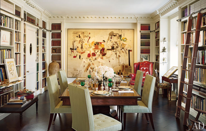 mix and chic beautiful and inspiring home libraries