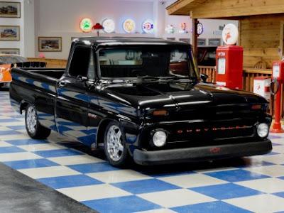 eski arabalar - chevrolet pickup