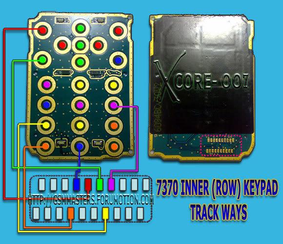 Nokia 7370 Keypad Track Ways