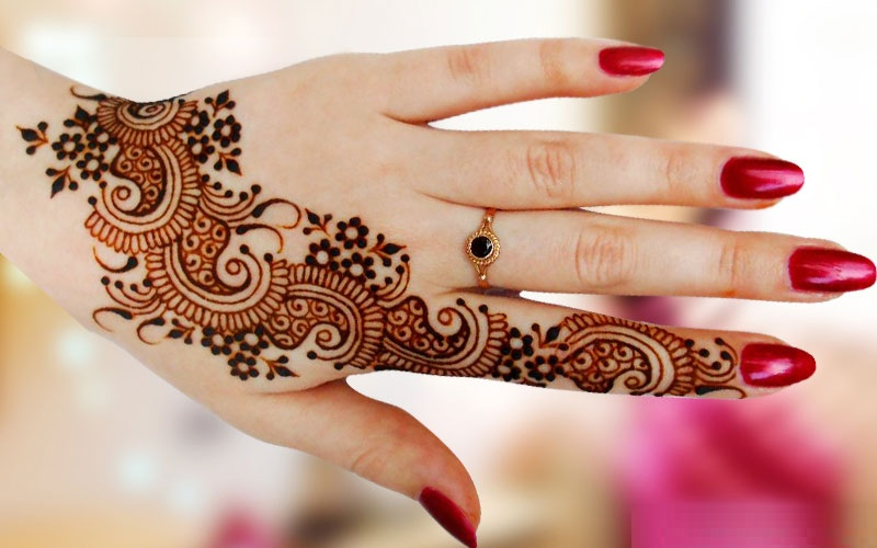 Hand Mehndi Download : Bridal mehndi designs for hand