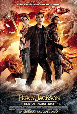 Percy Jackson Sea of Monsters movie poster large malaysia
