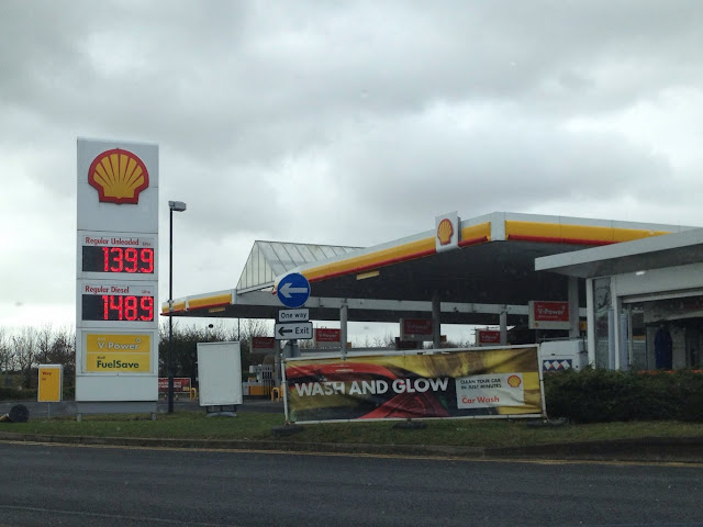 Yorshire Road Trip Petrol Station