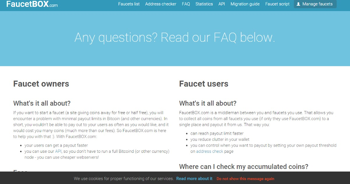 What is FaucetBox? | ValueBitcoin - #1 Bitcoin Faucet Review Site!