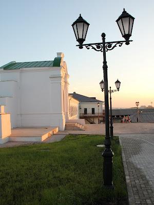 Церковь Николы Ратного Спасо-Преображенского монастыря Казанского кремля
