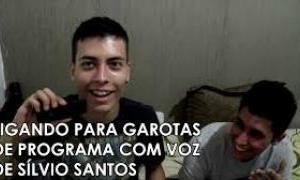 Trote: Ligando para garotas de programa com voz de Sílvio Santos