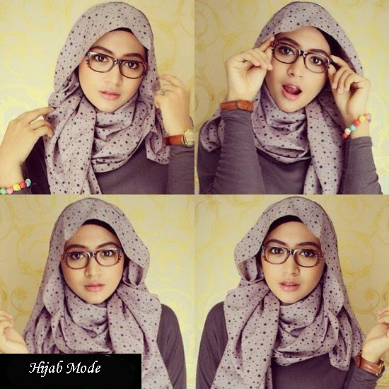 Top meilleur tutorial hijab Avec Lunette