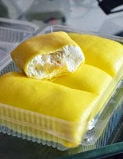 Tempahan Durian & Blueberry Crepe