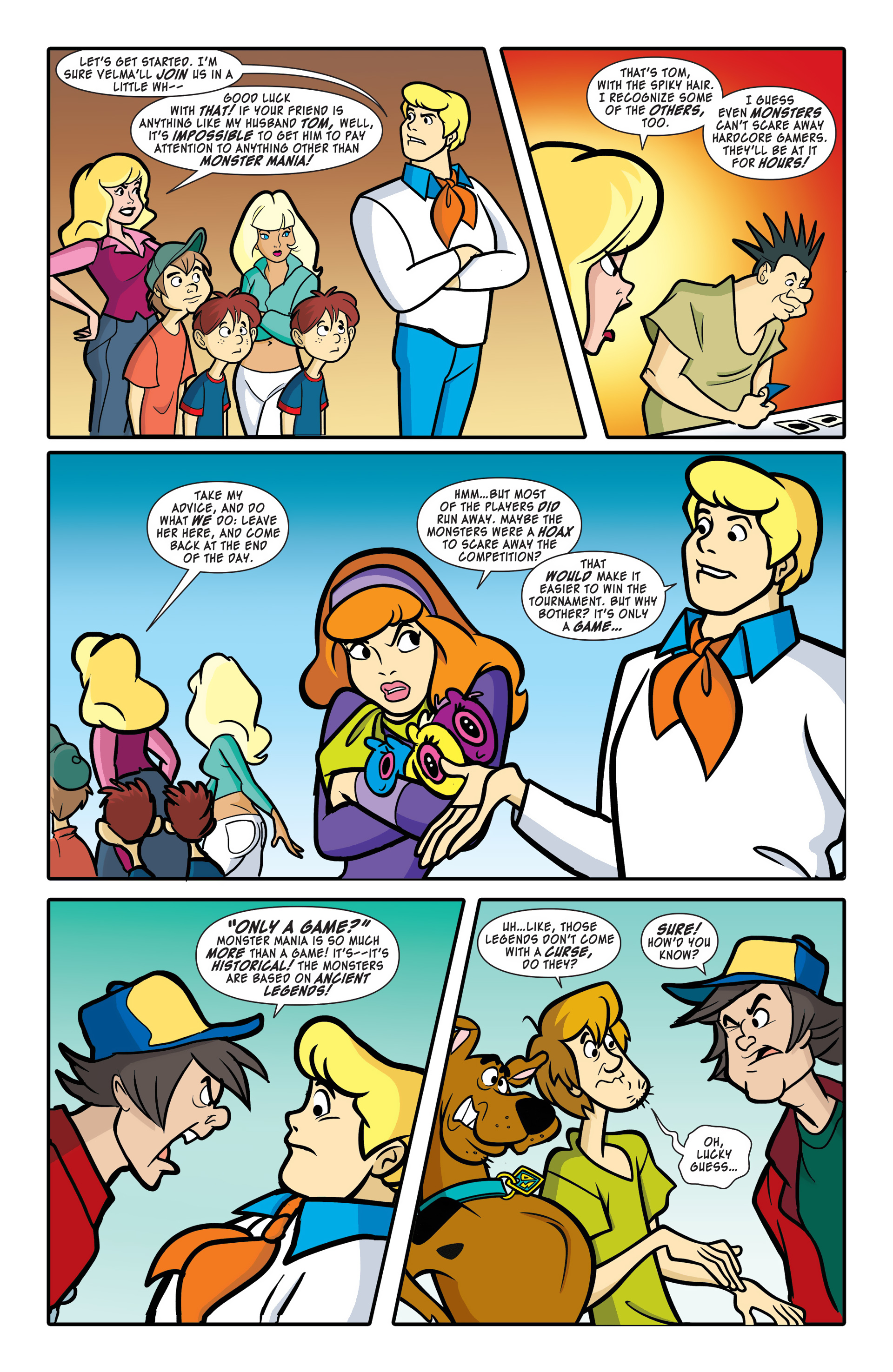 Read online Scooby-Doo: Where Are You? comic -  Issue #47 - 6
