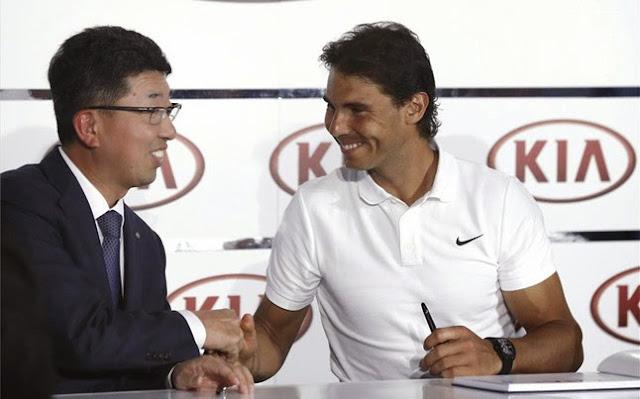 Rafa Nadal seguirá con KIA otros cinco años más