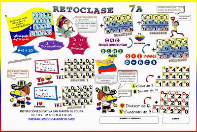 Criptoaritmética, Alfamética, Criptosumas, Problemas Matemáticos, Problemas para pensar, Acertijos matemáticos, Problemas de Ingenio, Problemas con solución, Historia de Colombia y la matemática