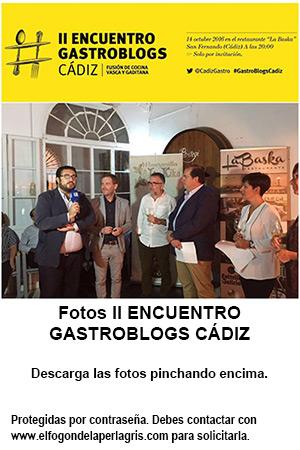 Fotos II Encuentro GastroBlogs Cádiz
