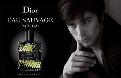 Ален Делон в рекламе аромата Eau Savage 1966