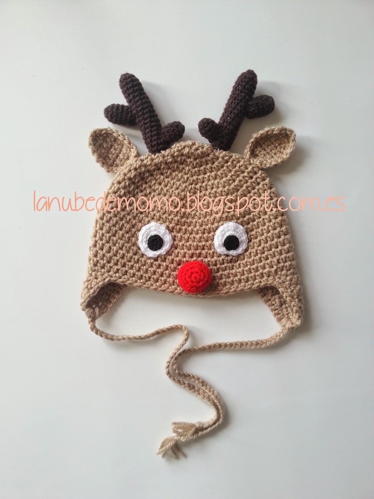 Reno gorros de bebe en crochet jpg 1200x1600 Reno gorros de bebe en crochet 2f6139084c2