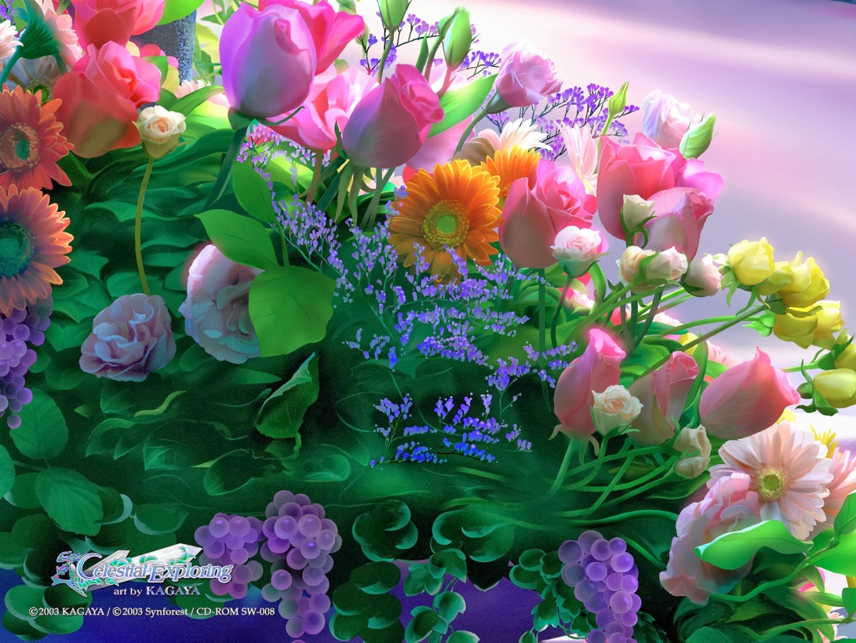 Kagaya Yutaka • Fondo de Pantalla  • Rosas, flores, gerberas