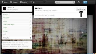 twitter update widgets
