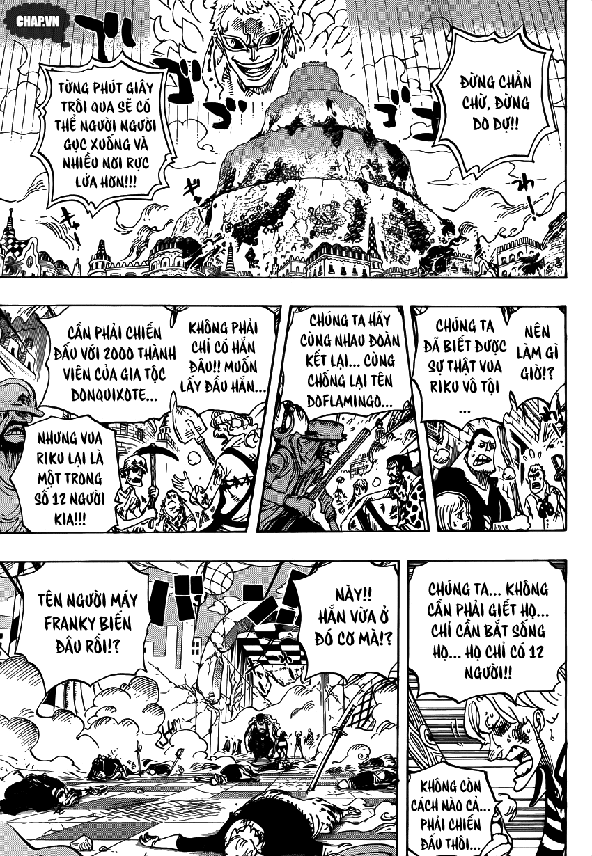 One Piece Chapter 746: Những ngôi sao 012