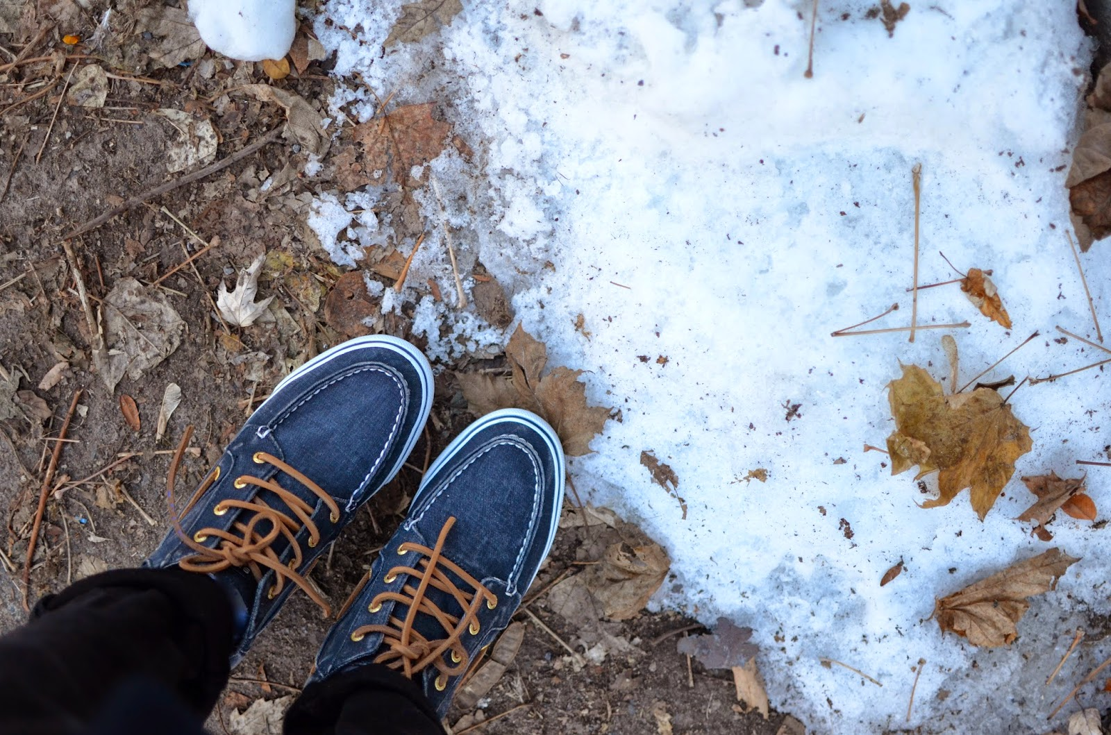sperry top sider, betty chukka, montreal, snow
