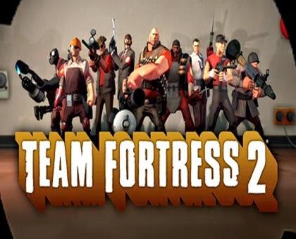 غلاف لعبة فريق القلعة Team Fortress 2