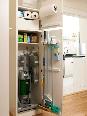 Better Homes and Garens: Organize This: Cleaning Closet