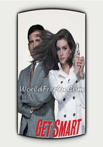 Poster Of Get Smart In Dual Audio Hindi English 300MB Compressed Small Size Pc Movie Free Download Only At exp3rto.com