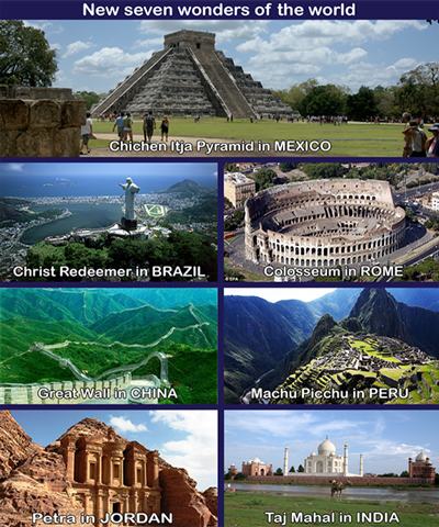 seven natural wonders We've all heard of the seven wonders of the world, the manmade ones that is but did you know there is a list of the seven natural wonders of the world.