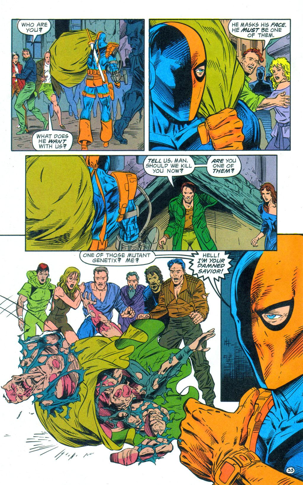 Deathstroke (1991) Annual 3 #3 - English 34