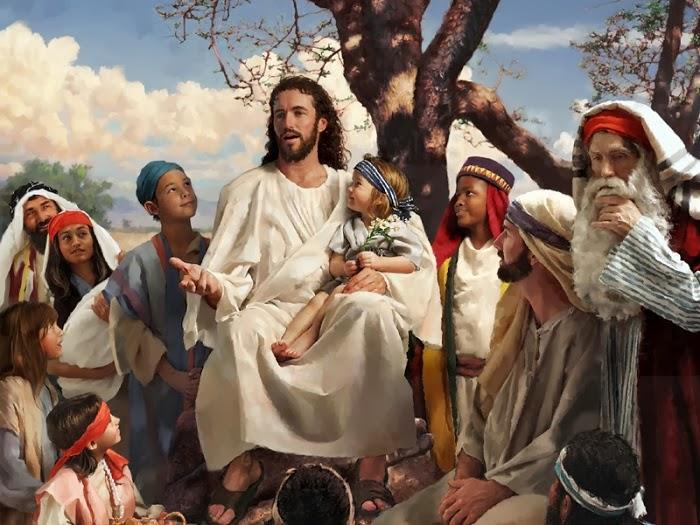 Resultado de imagen para imágenes de Jesús en el sermón de la montaña