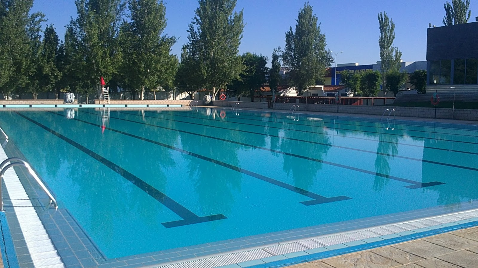 zafra ciudad deportiva piscina municipal de verano